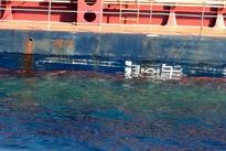 تصاویر/ کشتی باری ترکیهای دچار سانحه شد