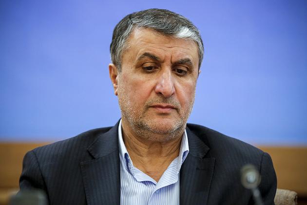 پیام تسلیت وزیر راه و شهرسازی در پی سقوط «پرواز تهران-کییف»