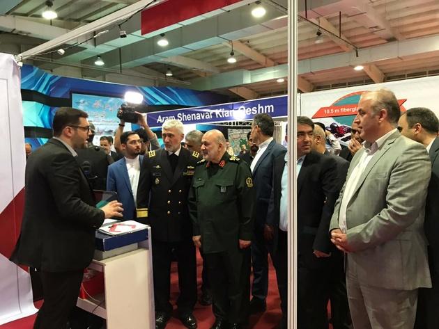 آغاز بکار بیست و یکمین نمایشگاه صنایع دریایی و دریانوردی کشور در قشم 