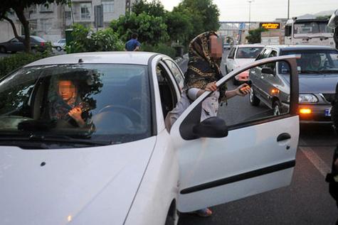 خودروی بدحجابان متوقف میشود